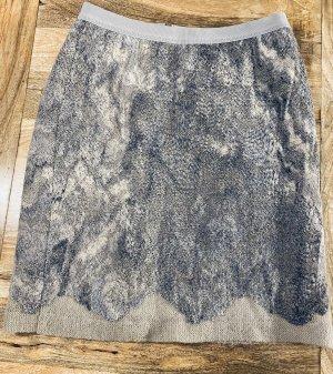 Marc Cain Mini rok lichtgrijs-grijs