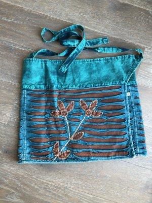Handmade Falda cruzada multicolor Algodón