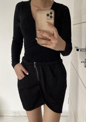Colours of the World Plaid Skirt black