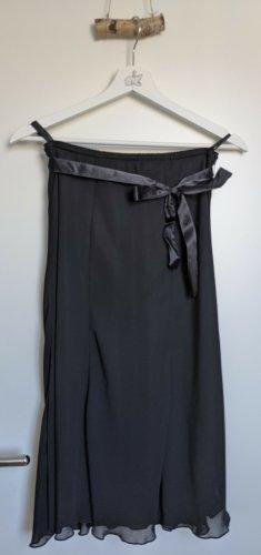 Biaggini Midi Skirt black polyester