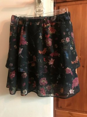 C&A Clockhouse Flounce Skirt multicolored polyester