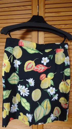 Ashley Brooke Mini-jupe multicolore coton