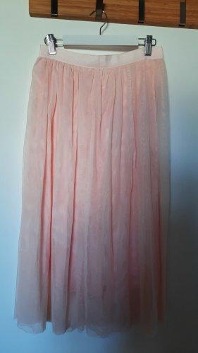 Rock mit breitem Taillenband - 24 colours - Zartes Rosa - Größe 36/S