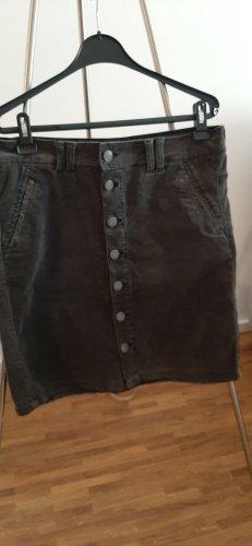 Object collectors item Falda stretch gris oscuro