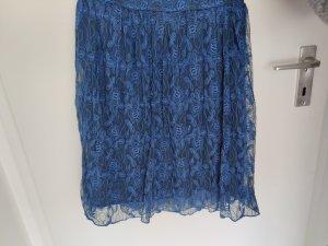 Yessica Jupe mi-longue bleu
