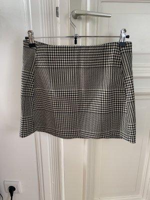 Urban Outfitters Tweed rok wit-zwart