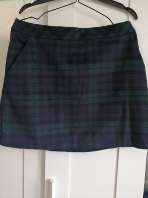 Primark Mini-jupe bleu foncé-vert foncé
