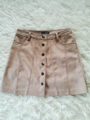 Zara Trafaluc Mini rok beige