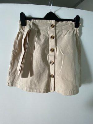 New Look Minifalda beige