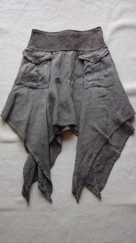 Daniele Alessandrini Skirt grey linen