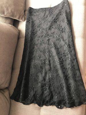 Emozioni Silk Skirt black