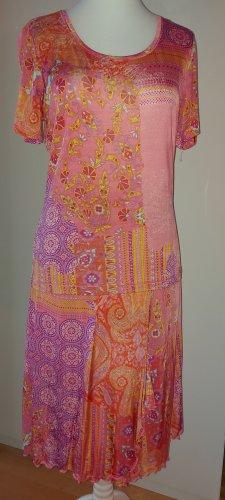 Kapalua Shortsleeve Dress orange-pink