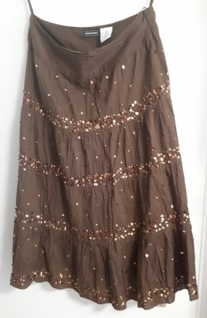 Modeszene Circle Skirt brown