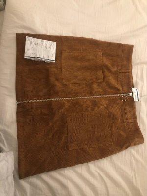 Aygill's Spódnica mini cognac-brązowy