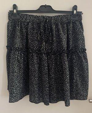 SheIn Miniskirt black-white