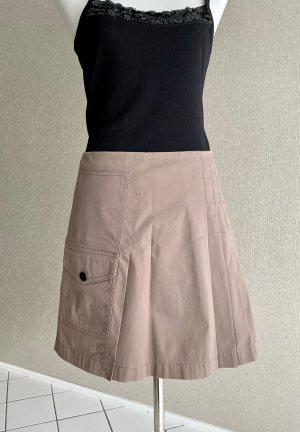 Strenesse Gabriele Strehle Plaid Skirt beige