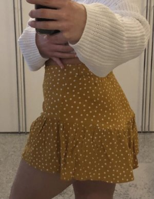 Zara Woman Falda pantalón multicolor