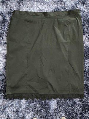 Ulla Popken Lace Skirt black polyester