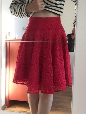 Orsay Kanten rok rood