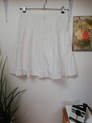 Influence Tweedowa spódnica biały
