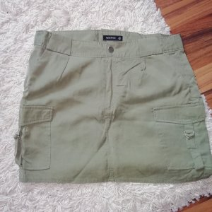 Reserved Mini rok groen-grijs