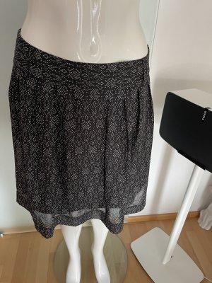 Camaieu Skaterska spódnica czarny-biały