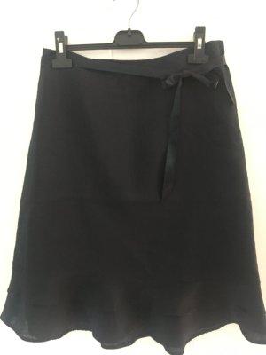 H&M Jupe en lin noir ramie