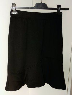 Ashley Brooke Flared Skirt black mixture fibre