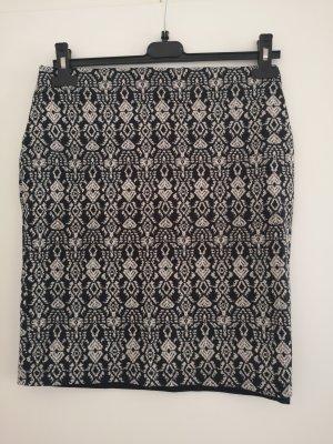 Montego Miniskirt white-black