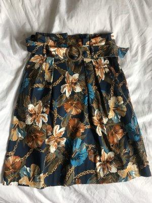 Orsay Ballonrok bruin-donkerblauw
