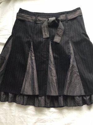 United Colors of Benetton Godet Skirt black-anthracite