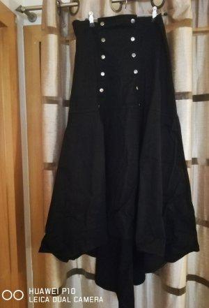 Necessary Evil Falda larga negro Algodón