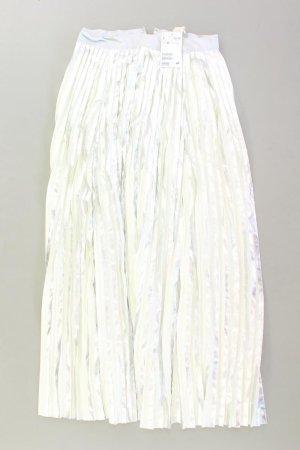 Plisowana spódnica srebrny Poliester