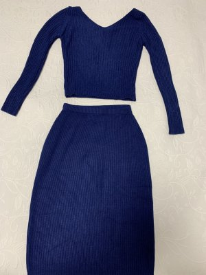 0039 Italy Ladies' Suit dark blue