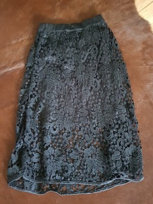 Object Lace Skirt black