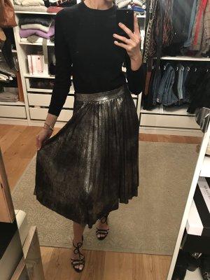Zara Jupe plissée argenté