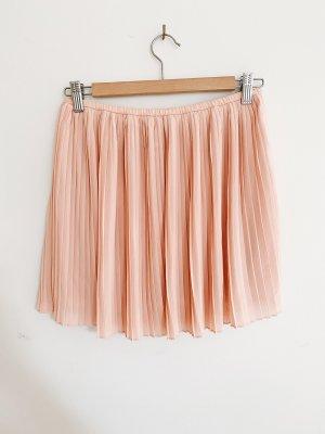 Forever 21 Plisowana spódnica różany