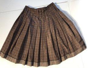 Prada Jupe à plis brun