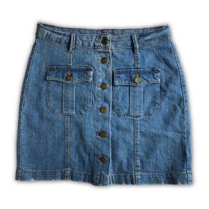 Promod Gonna di jeans multicolore