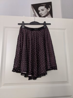 H&M Circle Skirt black-pink
