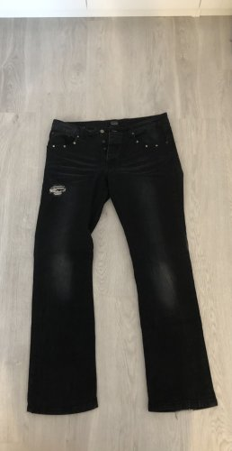 Rock Rebel Jeanshose 36/35 schwarz