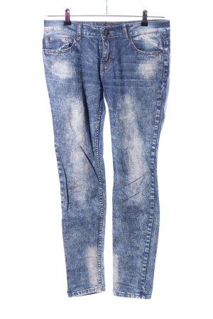 Rock Rebel Straight-Leg Jeans blau Casual-Look