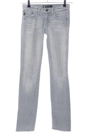 Rock & Republic Jeans vita bassa grigio chiaro stile casual