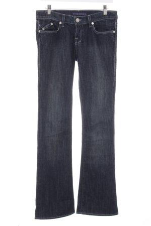 Rock & Republic Low Rise jeans donkerblauw-leigrijs gewassen uitstraling