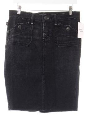 Rock & Republic Denim Skirt anthracite second hand look