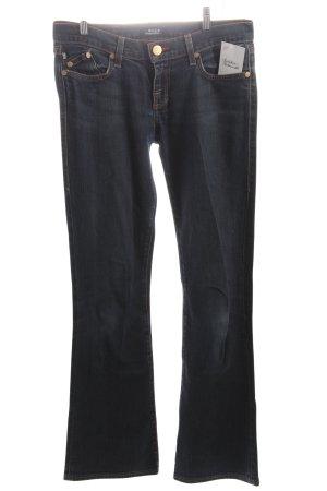 Rock & Republic Straight Leg Jeans dark blue casual look