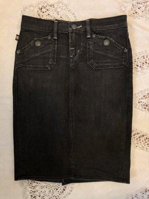 Rock & Republic Denim Skirt dark blue