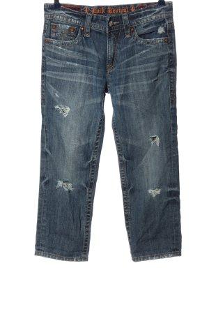 Rock Revival 7/8 Jeans blau Casual-Look