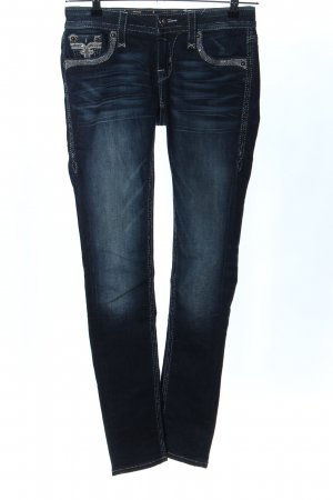 Rock Revival Jeans vita bassa blu stile casual