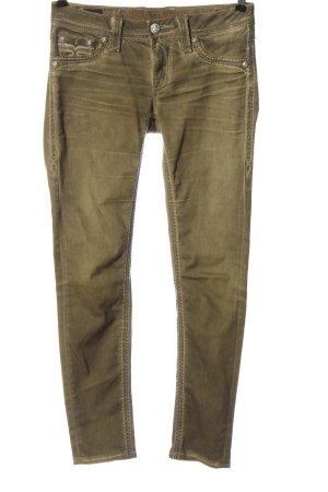 Rock Revival Jeans taille basse kaki style décontracté